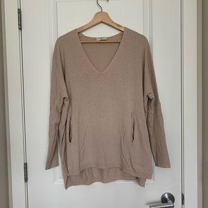 Aritzia Babaton Baylor sweater - S/M - cream -VEUC